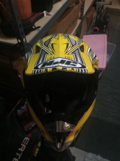 HJC motor cross atv helmet youth