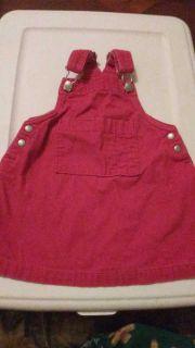 Gap 12-18m Overall Dress