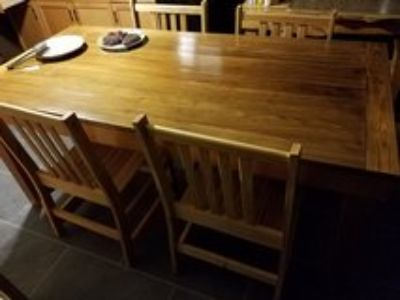 Cypress Table and chairs