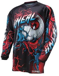 Sell NEW 2014 ONEAL ELEMENT MUTANT JERSEY MOTOCROSS ATV BMX SHIRT motorcycle in New Haven, Connecticut, US, for US $24.99
