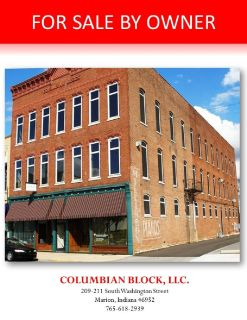Office/Retail/Potential Residential Building for Sale by Owner-Marion, Indiana
