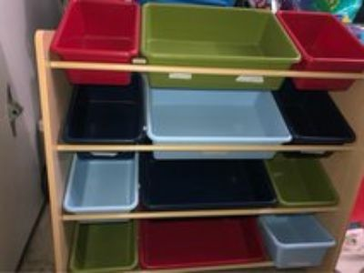 kids Organization Storage Bins