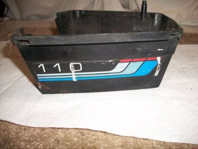Buy 1977 Mercury 9.8hp 110 Outboard Motor Engine Lower Cowling motorcycle in Independence, Missouri, United States, for US $30.00