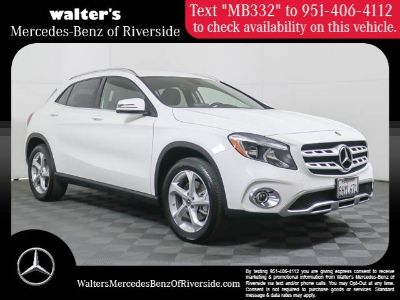 2019 Mercedes-Benz GLA GLA 250 (Polar White)
