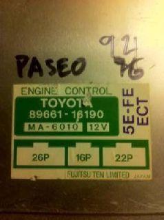 $150 Toyota ECU, Paseo, Matrix, Echo, Previa, Camry