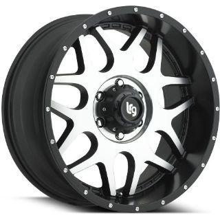 Purchase 20x9 Machined Black LRG 104 8x170 +0 Wheels 35X12.50R20LT Tires motorcycle in Saint Charles, Illinois, United States, for US $2,034.82