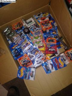 Vw Hotwheels and car toys