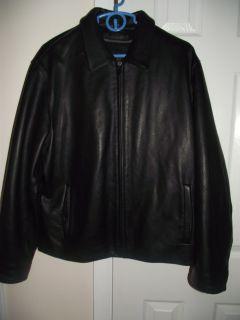Leather motorcycle Jacket like new size L