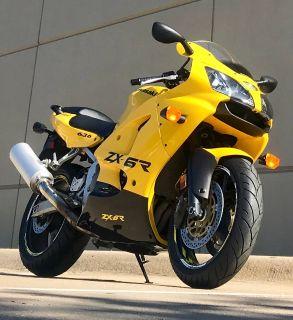 2002 Kawasaki Ninja ZX-6R SuperSport Motorcycles Plano, TX