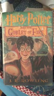 "Harry Potter ""and the goblet of fire"" Hardcover book. Brand new."