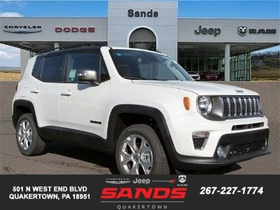 2019 Jeep Renegade (Alpine White)