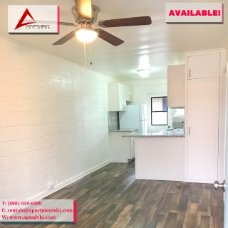 $495 1ST MONTH RENT SPECIAL | FULLY RENOVATED! NEW FLOORS! NEW KITCHEN! FRESH PAINT! PRIVATE LANAI! | REQUEST TO VIEW THIS 2BD/1BA/1PK RENTAL! | ALA MOANA - KAKAAKO