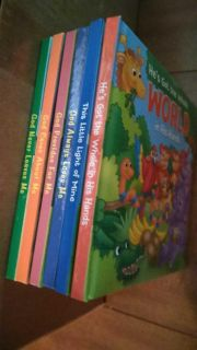 Brand new huggable books, Christian theme. Very nice for kids and toddlers.