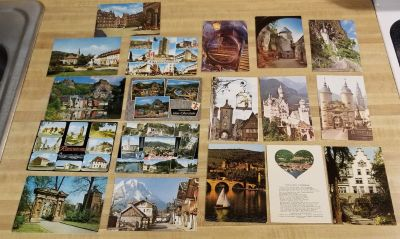 Lot of 19 Vintage Post Cards from Germany
