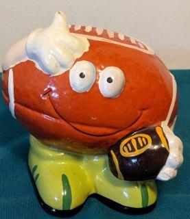 Ceramic Football Bank