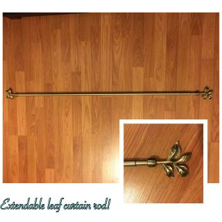 Extendable Leaf Curtain Rod (great condition)