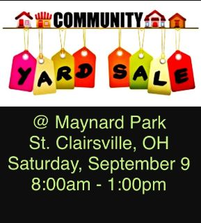 Maynard Community Yard Sale