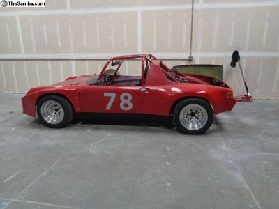 914-6 Race Car Chassis