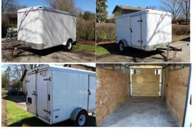 Pace American Enclosed Trailer