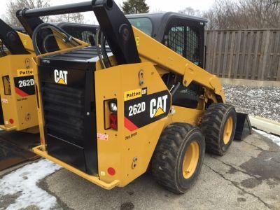 2015 CAT 262D SKID STEERS