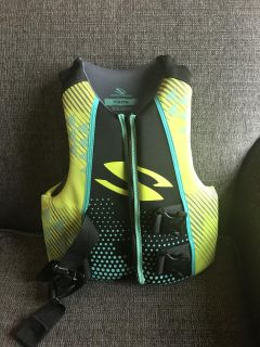 Stearns life jacket, youth size, used little