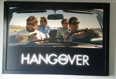 The Hangover Framed Picture