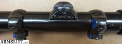 For Sale: Browning 5x scope