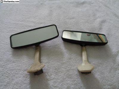 OG VW Bug Day/Night Rear View Mirror
