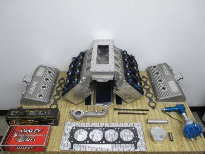 SBF Hemi Aluminum Cylinder Heads