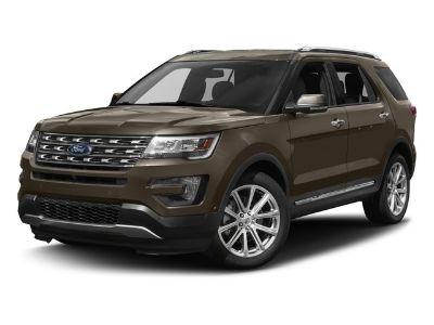 2017 Ford Explorer Limited (Ingot Silver Metallic)