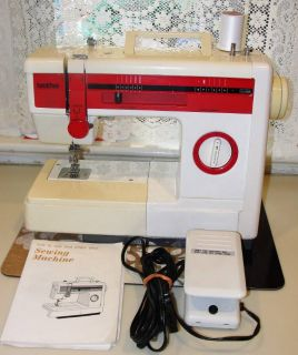 Brother .. model #VX808 .. Portable Sewing Machine .. Home Sewing and Embroidery