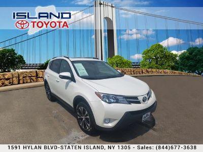2015 Toyota RAV4 Limited (Blizzard Pearl)