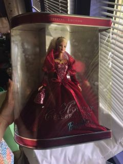 2002 holiday collection Barbie doll