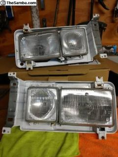 Vanagon Factory HELLA Square Headlight Assemblies
