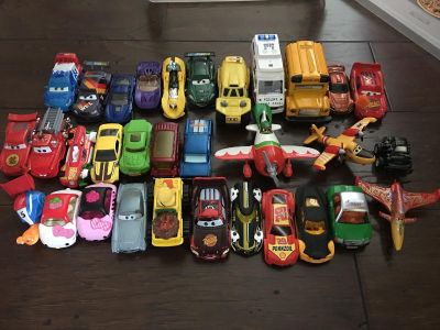 Cars over 30 pieces