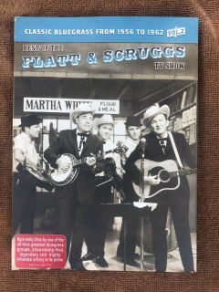 Best of Flatt and Scruggs TV Show DVD Vol 2 Classic Bluegrass from 1956 to 1962