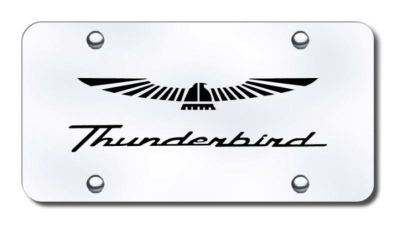 Buy Ford Thunderbird Laser Etched Brushed Stainless Steel License Plate Made in USA motorcycle in San Tan Valley, Arizona, US, for US $39.52