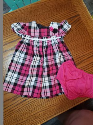 24m dress with diaper cover