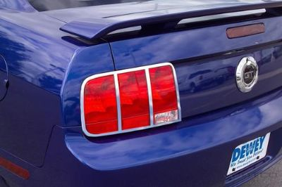 Sell Putco 400811 Tail Lamp Cover 05-09 MUSTANG Chrome motorcycle in Naples, Florida, US, for US $146.87