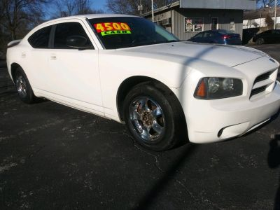2008 Dodge Charger Base (White)
