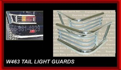 Find G-WAGON W463 TAIL LIGH GUARD TUBE G55 G500 G550 CHROME STOP LIGHT LAMP MERCEDES motorcycle in North Hollywood, California, US, for US $199.00
