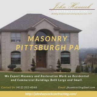 Masonry Pittsburgh PA