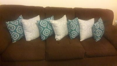 Matching Brown Couch Set/ Good condition