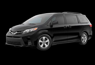 2020 Toyota Sienna LE Auto Access Seat (Midnight Black Metallic)