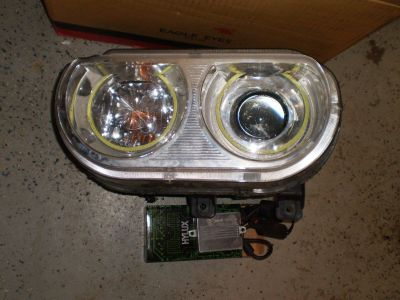 2008-2014 Dodge Challenger SE R/T Headlights RH & LH Pair Set HEMI LIGHTS