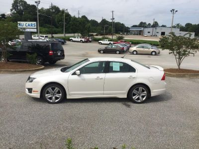 2012 Ford Fusion Sport (White)