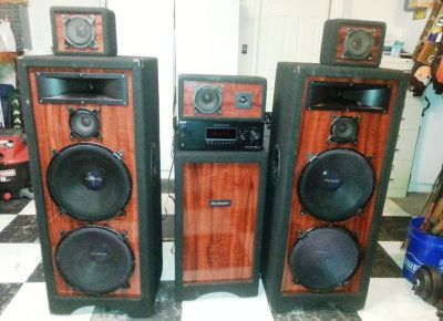 PRO STUDIO SPEAKER SET (5 Speakers in all)
