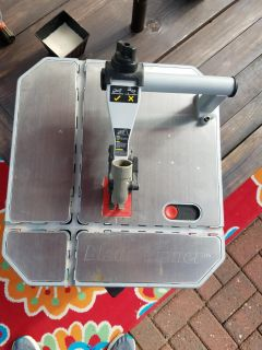 Rockwell tabletop reciprocating saw. Very good condition