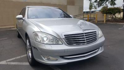 2008 Mercedes-Benz S-Class S550 (Iridium Silver Metallic)