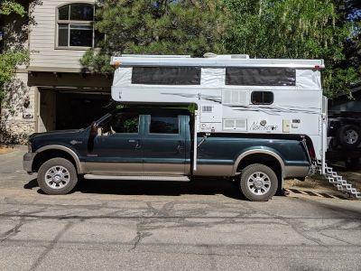 2006 Ford F-350 King Ranch & 2012 Northstar Pop Up Camper